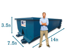 Roll Off Dumpster Rentals In South Bend In Budget Dumpster