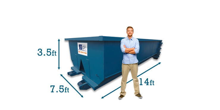 10 Yard Dumpster Dimensions