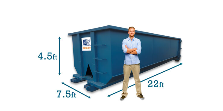 20 Yard Dumpster Dimensions