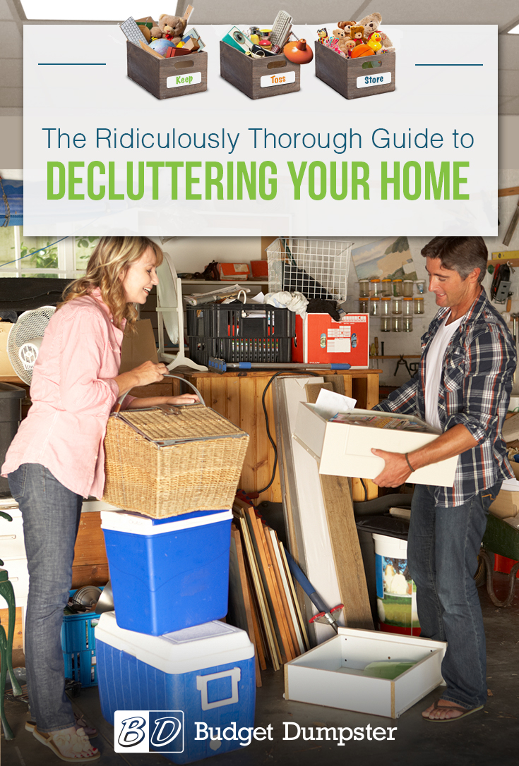 how to declutter your home a ridiculously thorough guide budget