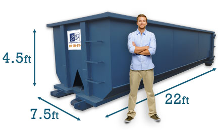 20 Yard Dumpster Costs Dimensions Capacity Budget Dumpster