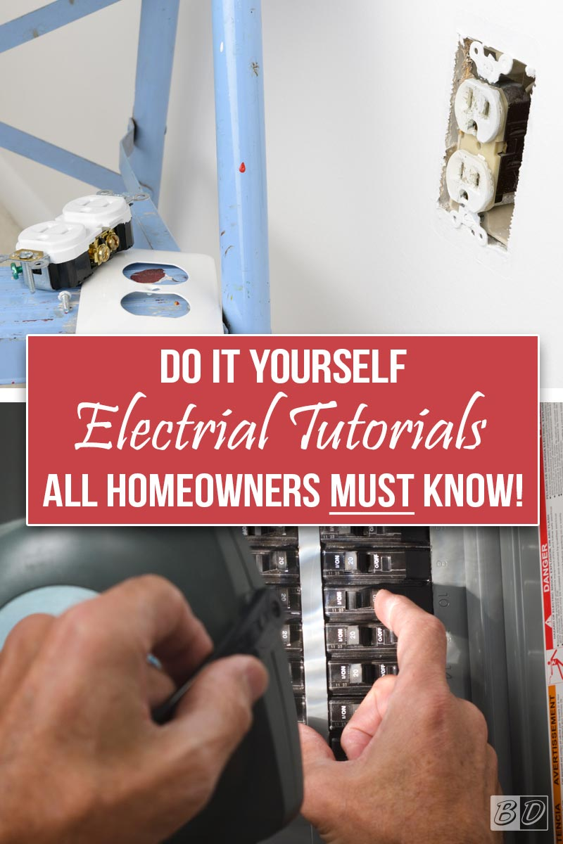 The New Homeowners Guide To Diy Home Improvement Function Circuit Breaker Plug On Load Center Style Dont Get Shocked Click Here And Read Exceedingly Comprehensive