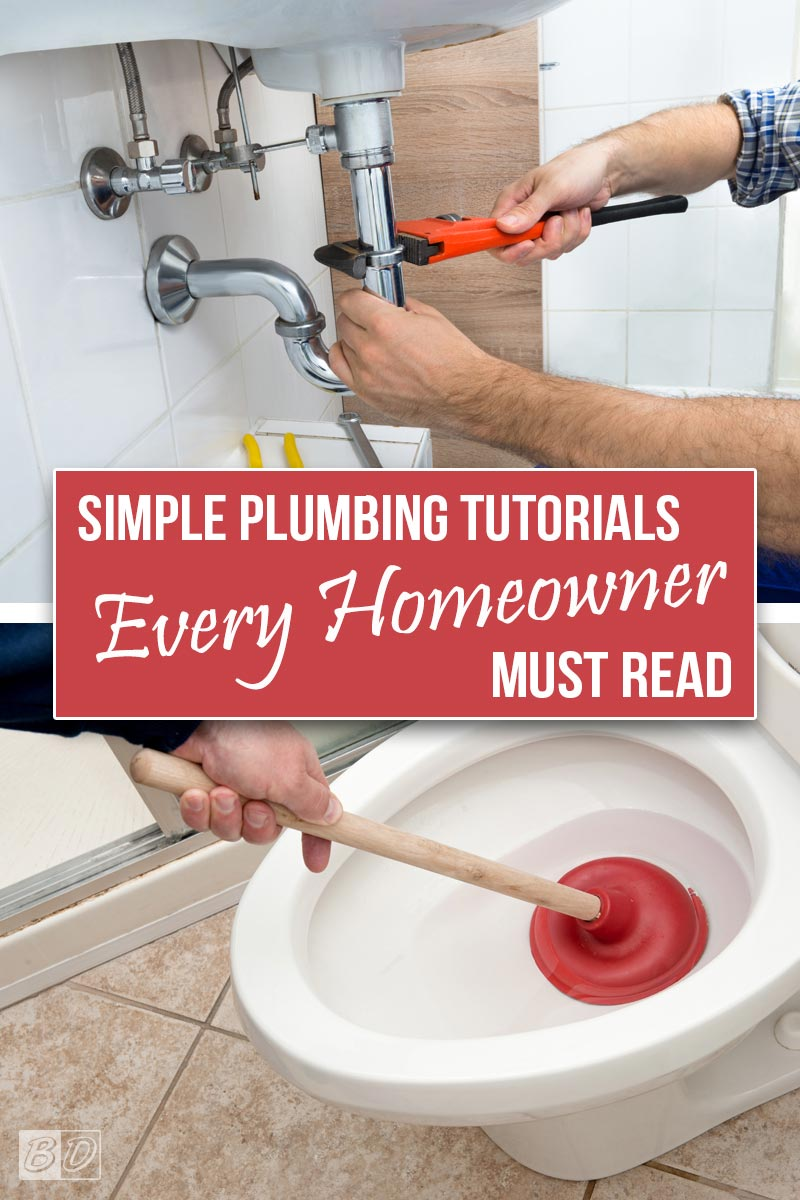 Get simple step by step tutorials for plumbing issues that come up for every homeowner. No need to hire a plumbing, let us teach you how to unclog a sink shower or toilet, shut off your water, or fix a leaky pipe. Our guide will even help you brush up on plumbing code! Click here and read The Exceedingly Comprehensive Guide To DIY Home Improvement for First-Time Homeowners and get started today!