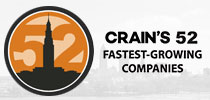 Crain's 52 Fastest Growing Companies logo