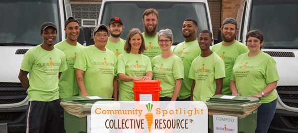 Collective Resource Feeding the Soil