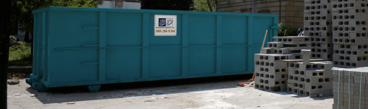 Dumpsters for Concrete Disposal | Budget Dumpster