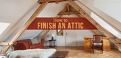 Attic Converted into a Room