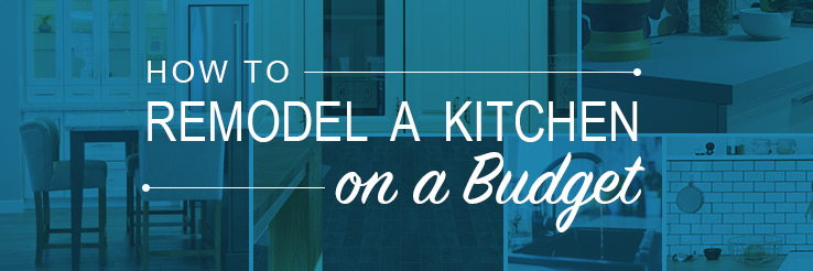How to Tackle a Budget Kitchen Remodel | Budget Dumpster