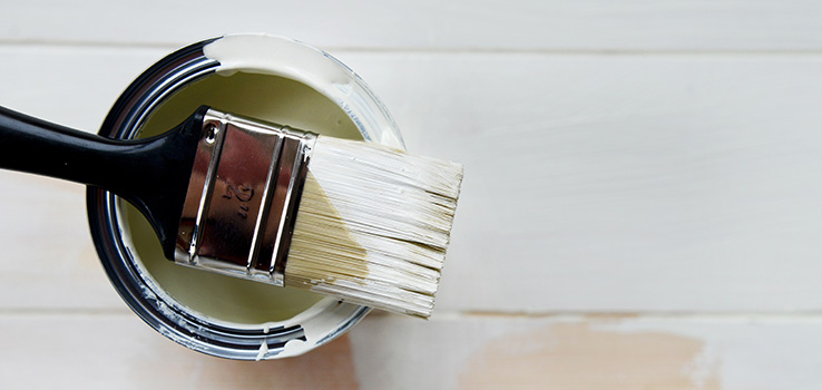 Choosing the right paint finish.