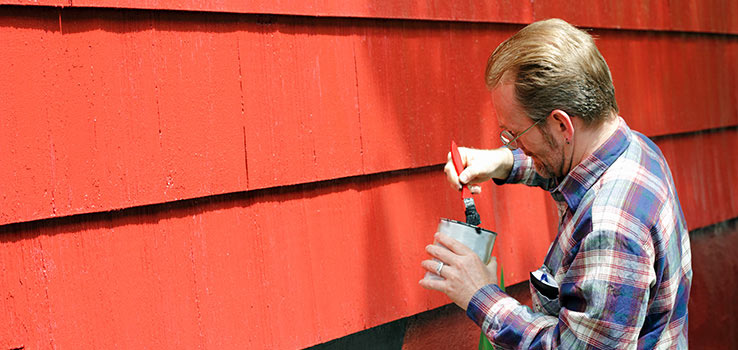 When to paint your house.