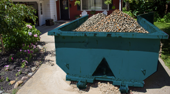 How To Dispose Of Rocks Gravel Budget Dumpster