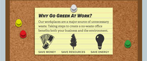 Why Go Green at Work